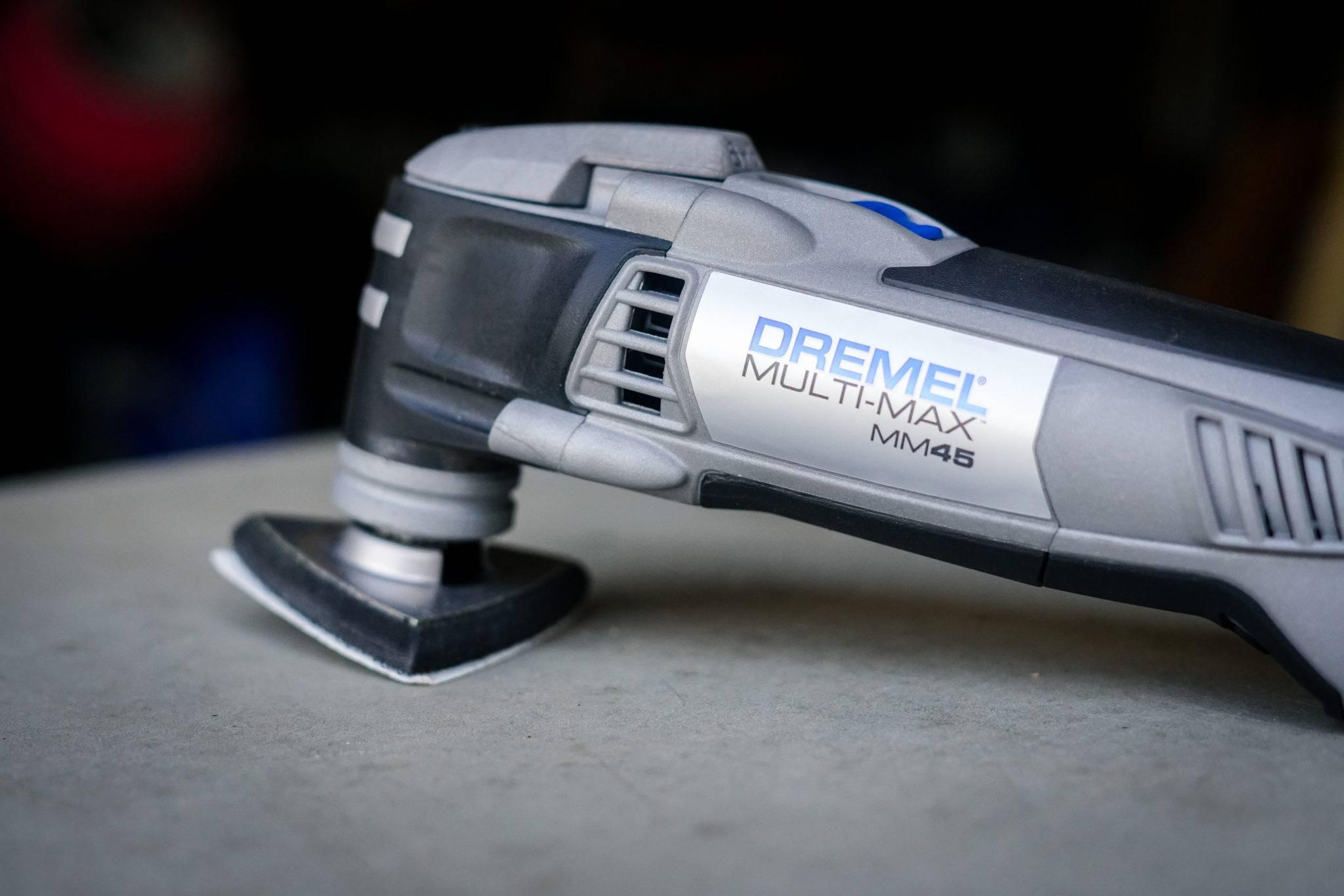 Dremel Multi-Max 5 Amp Variable Speed Corded Oscillating Multi-Tool Kit
