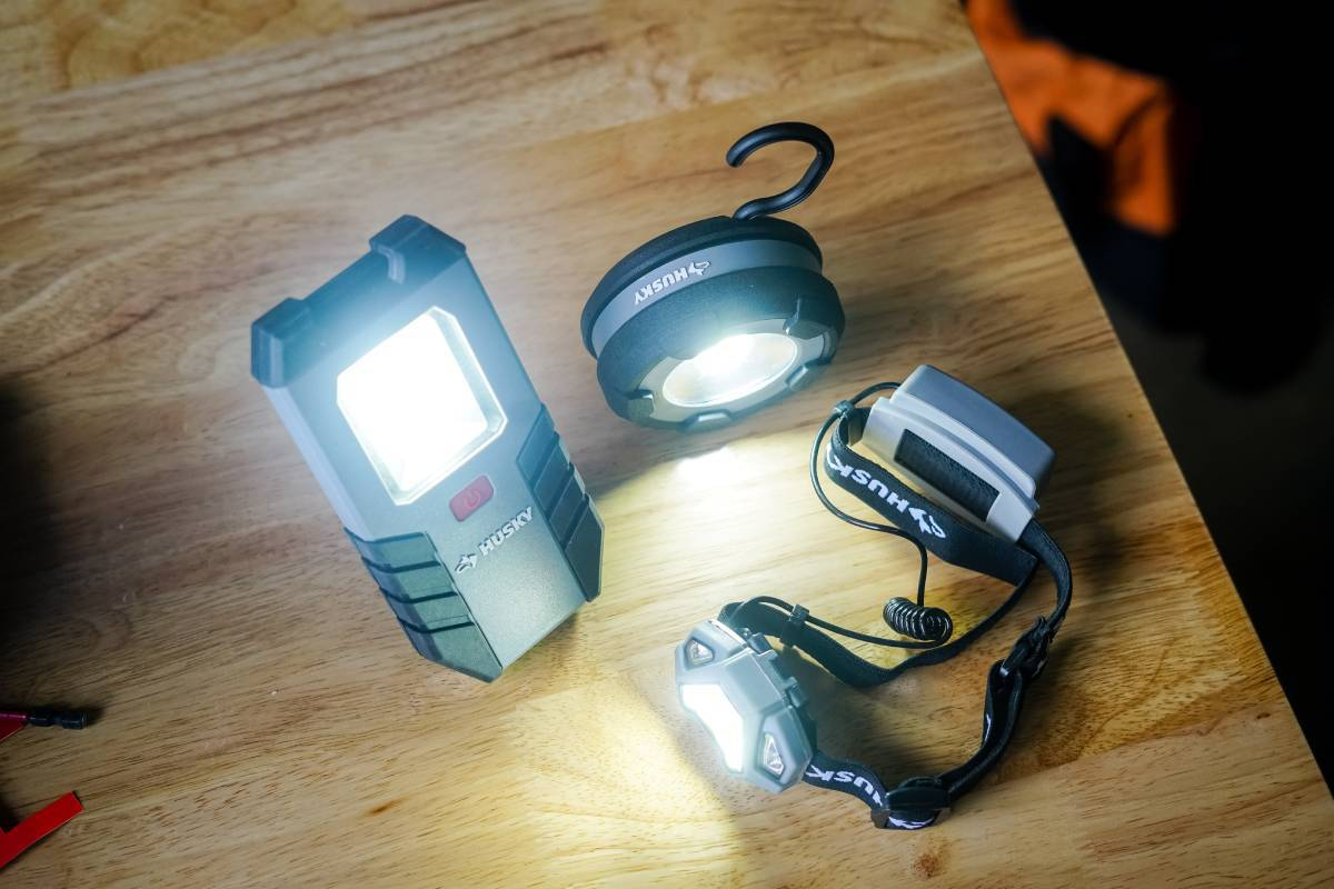 Husky Work Lights