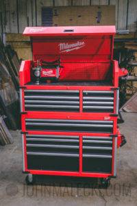 "46"" High Capacity Milwaukee Toolbox"