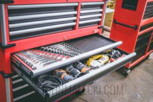 "46"" High Capacity Milwaukee Toolbox Slim Drawer"