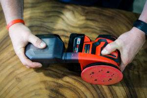 Milwaukee M18 Random Orbit Sander