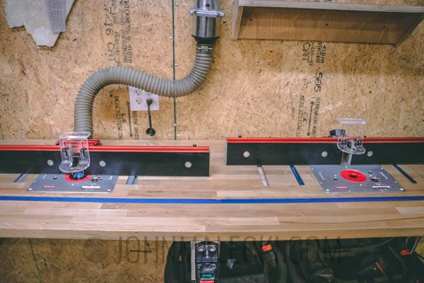 Router Table Double Lifts
