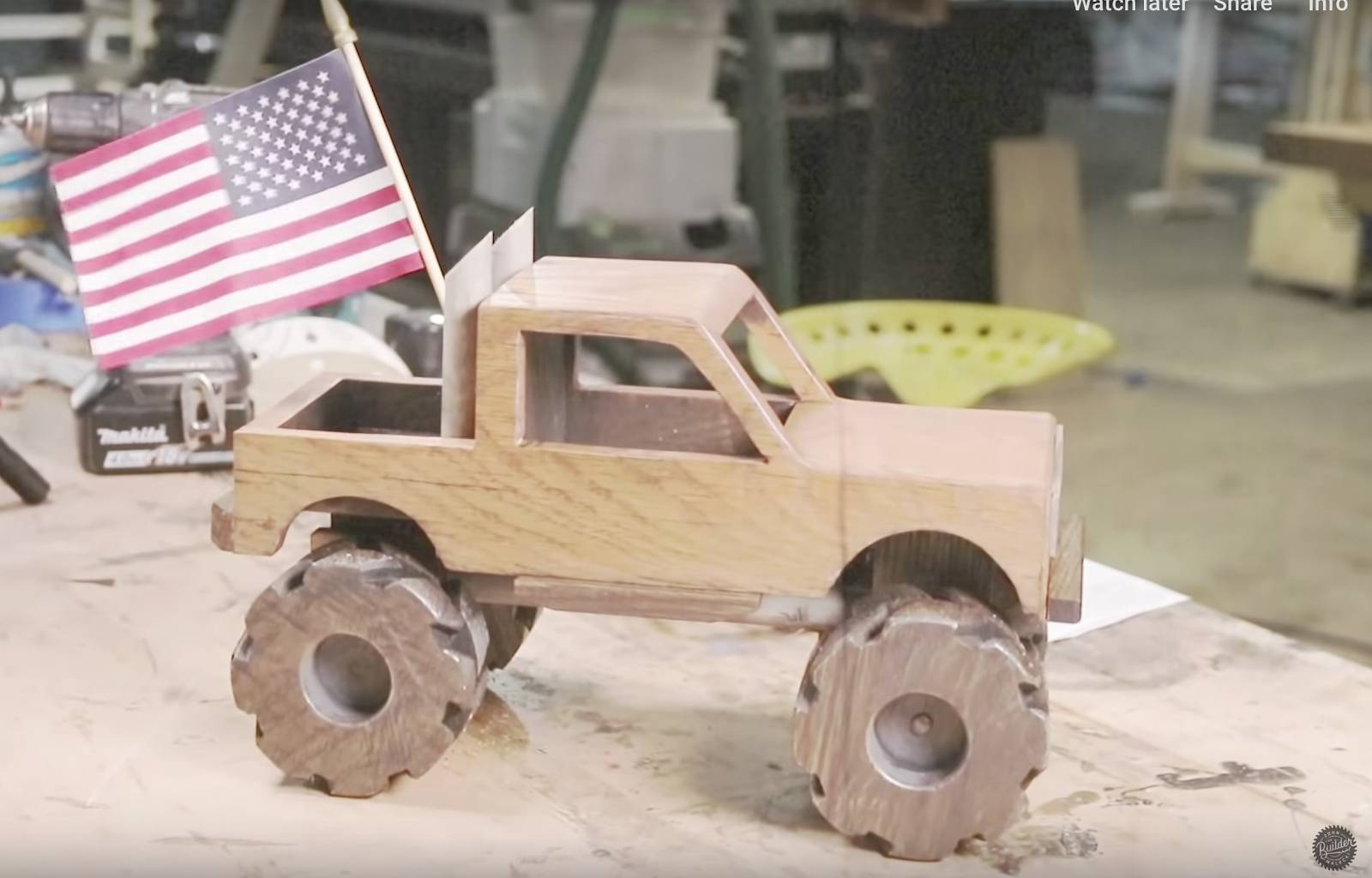 John malecki's DIY wooden toy truck