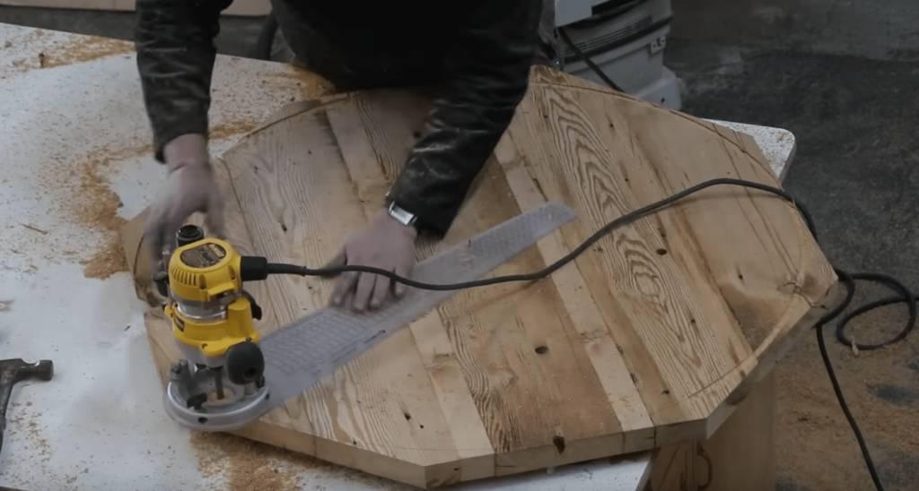 John Malecki Cuts Top to Size