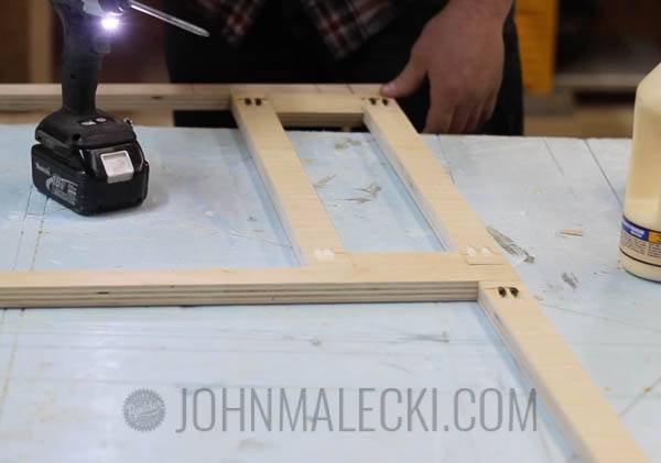Table Saw Outfeed Table Step-10