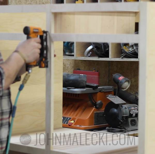 Table Saw Outfeed Table Step-13