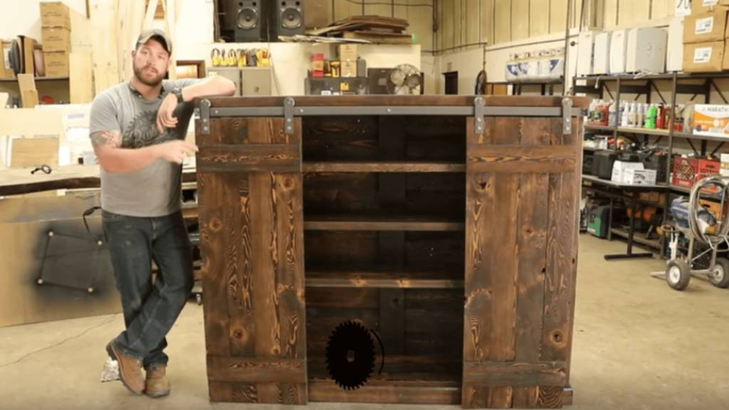 How to Make Your Own Sliding Bookshelf Doors