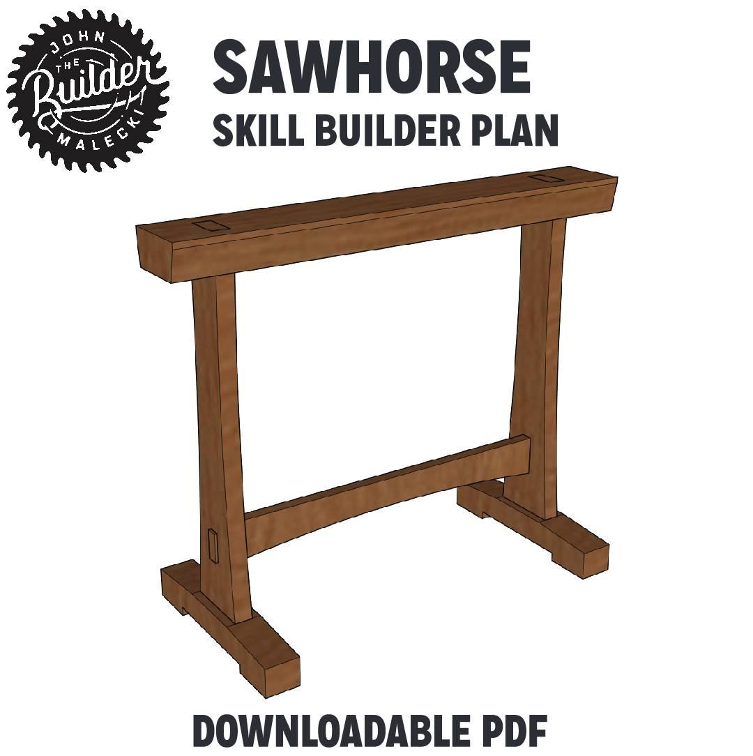 FREE Sawhorse Plan
