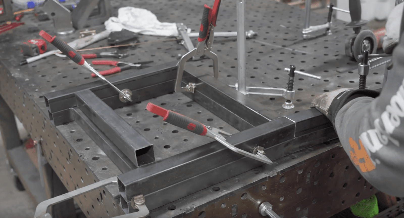 Chair Frame Welding