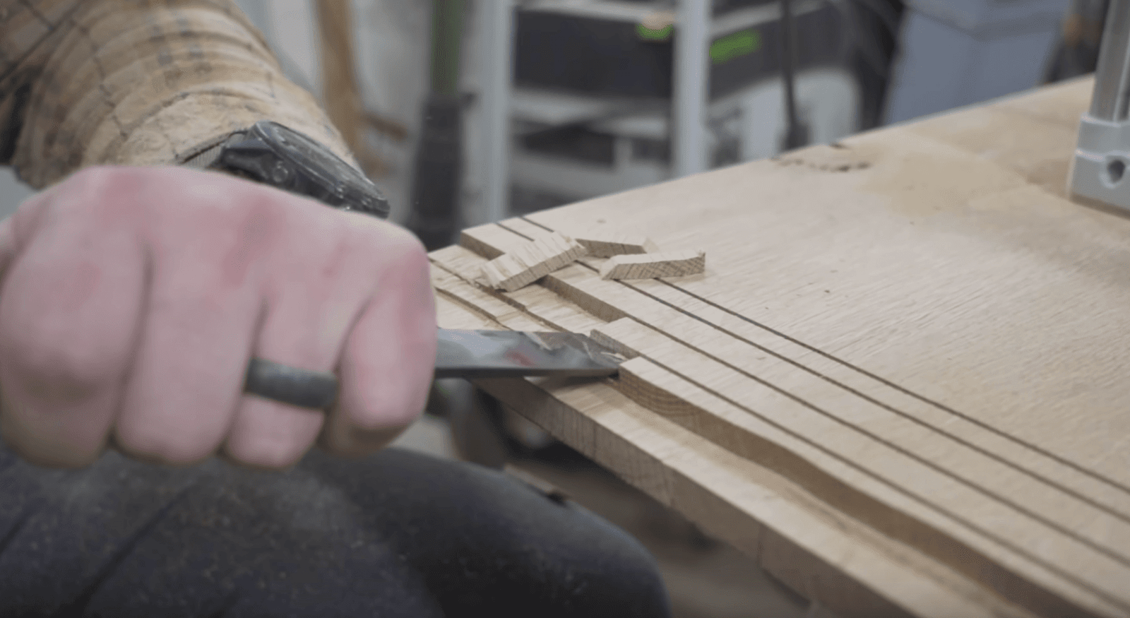 Creating breadboard ends