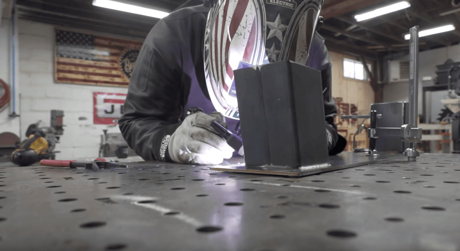 Metal Table Base Welding