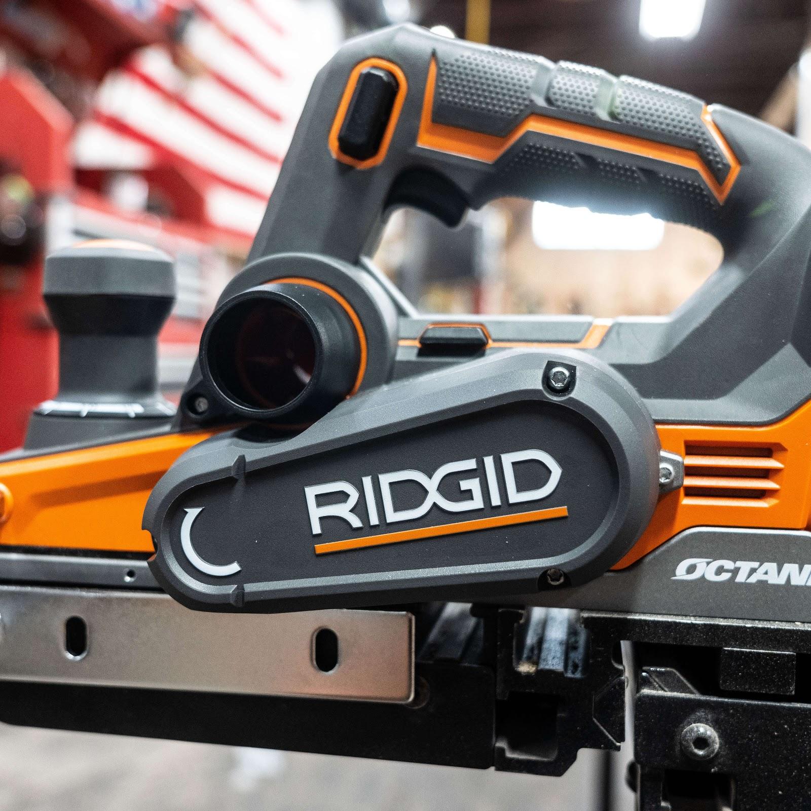 RIDGID OCTANE Brushless 18V 3 ¼ Hand Planer