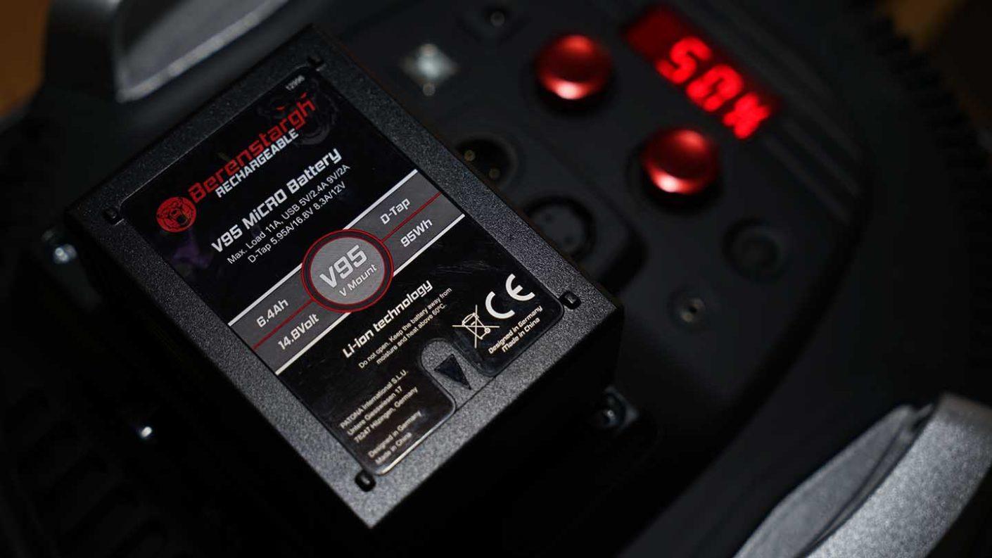 V95 V-Mount Micro Battery Review