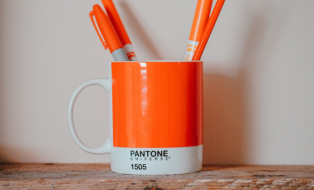 white label branding pantone cup