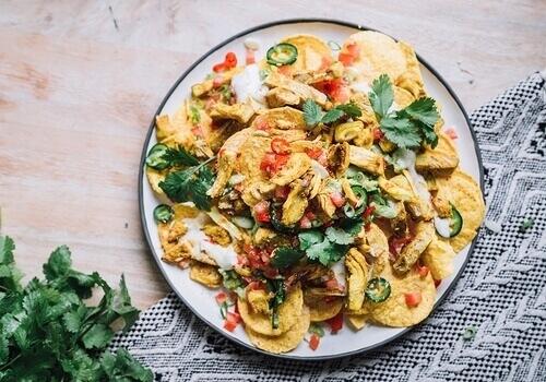 vegan-jackfruit-nachos
