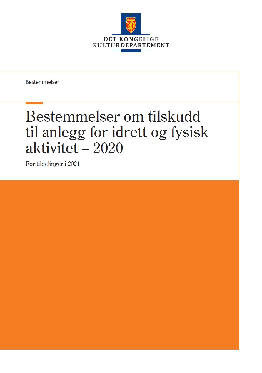 Bestemmelser om tilskudd til anlegg for idrett og fysisk aktivitet - 2020