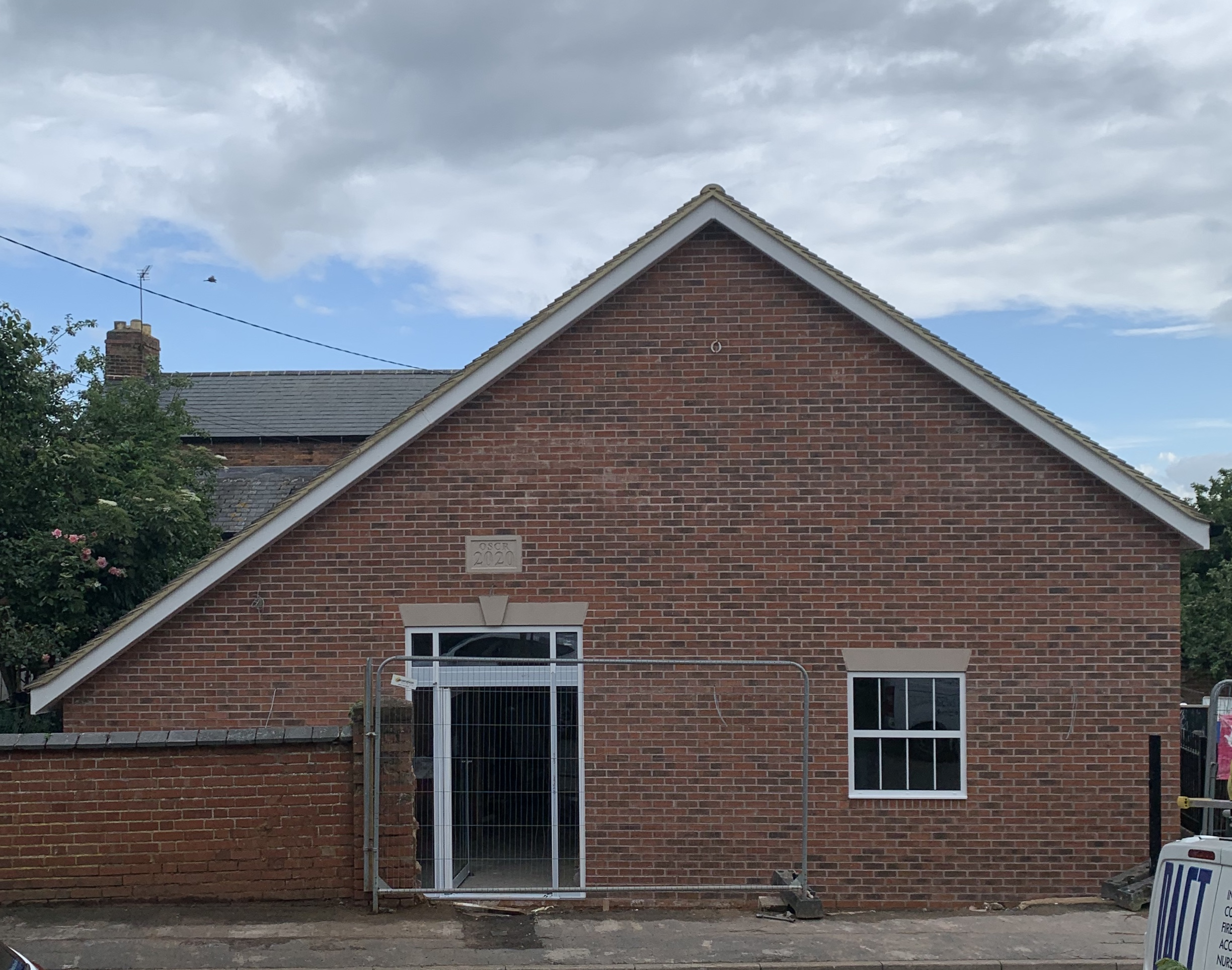 Village Hall Nearing Completion