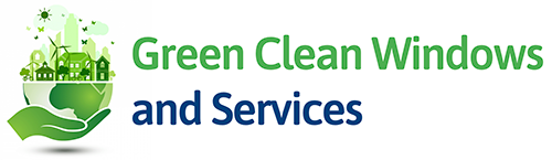 green clean windows and services logo