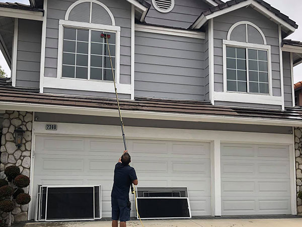 2 story window cleaning