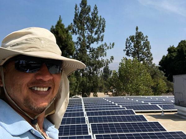 solar panel cleaning corona