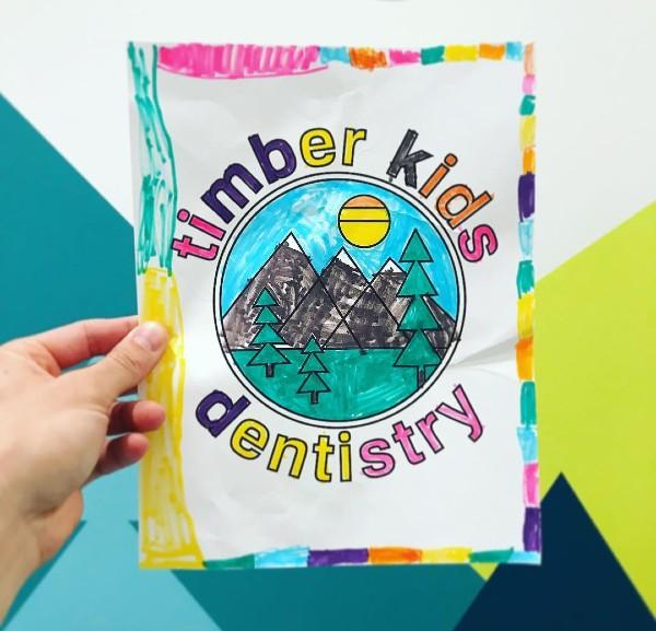 TKD drawing of their logo