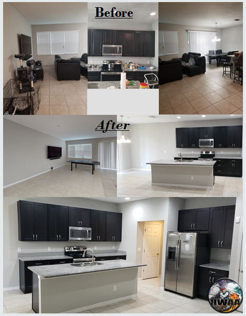 Kitchen and Flooring Remodel