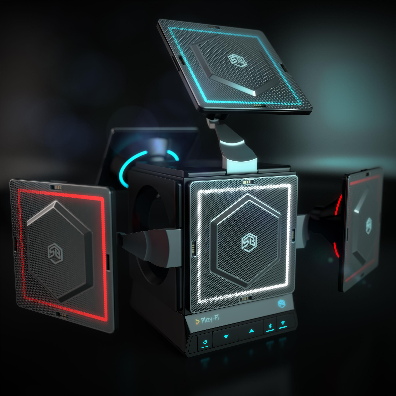 Sonic Blocks' modular speaker system