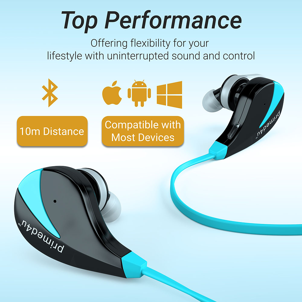 Headphone info-graphic 3D rendering
