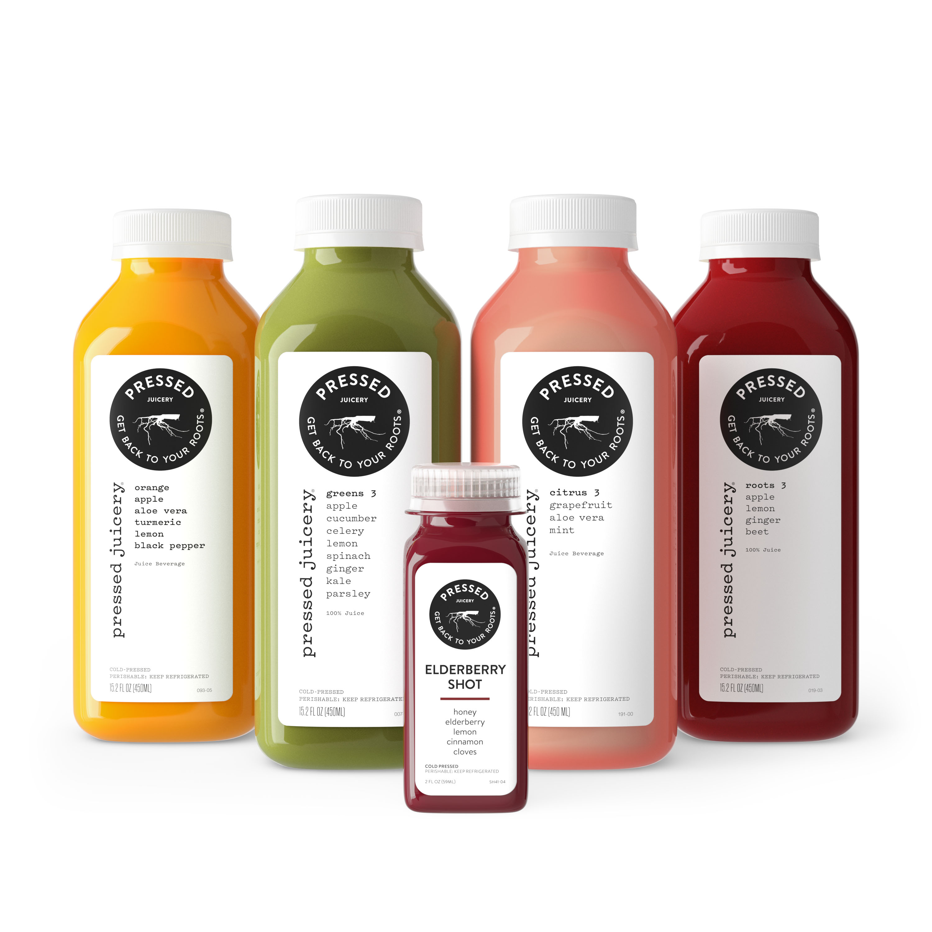 Pressed Juicery group product shot