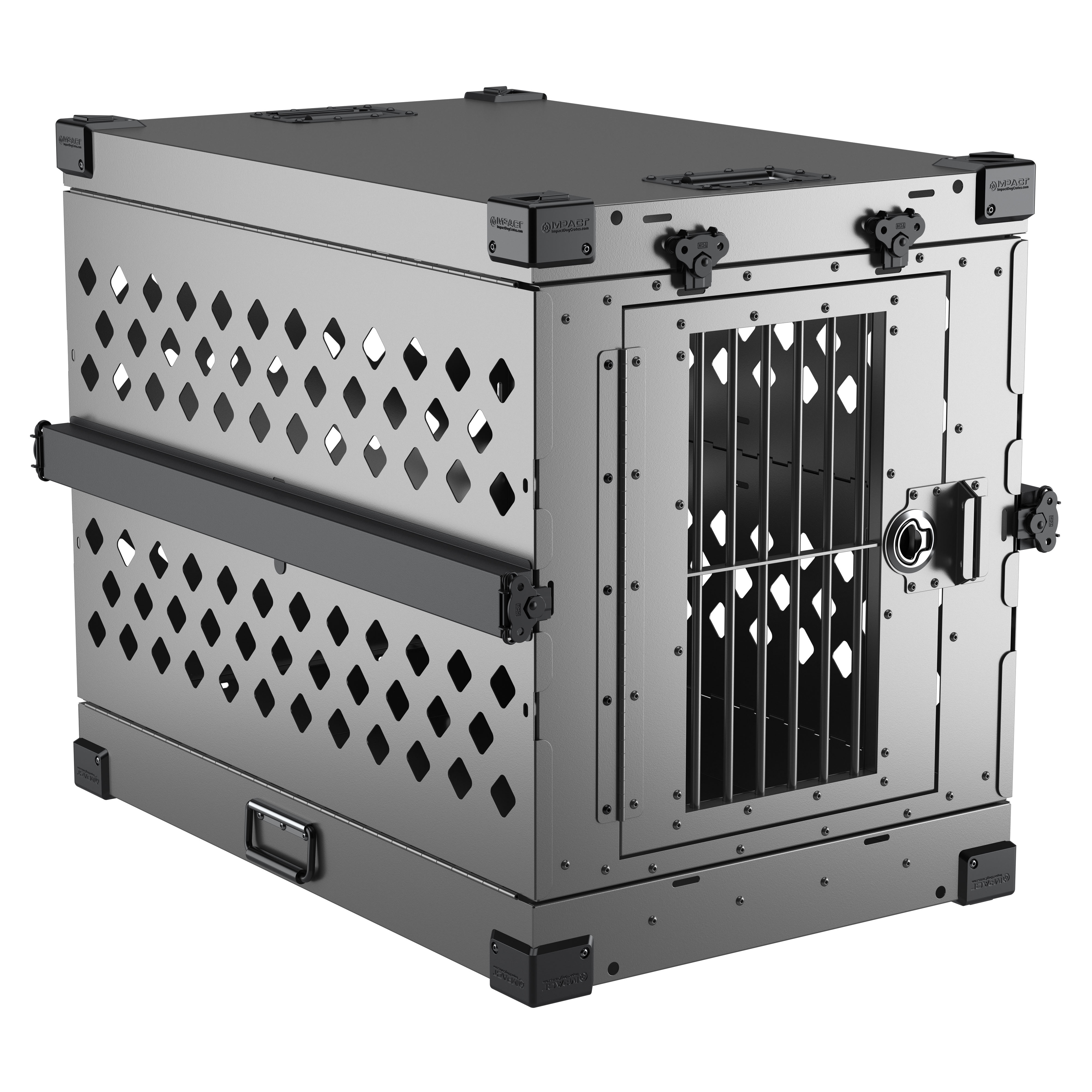 Impact Dog Crate 3D product rendering