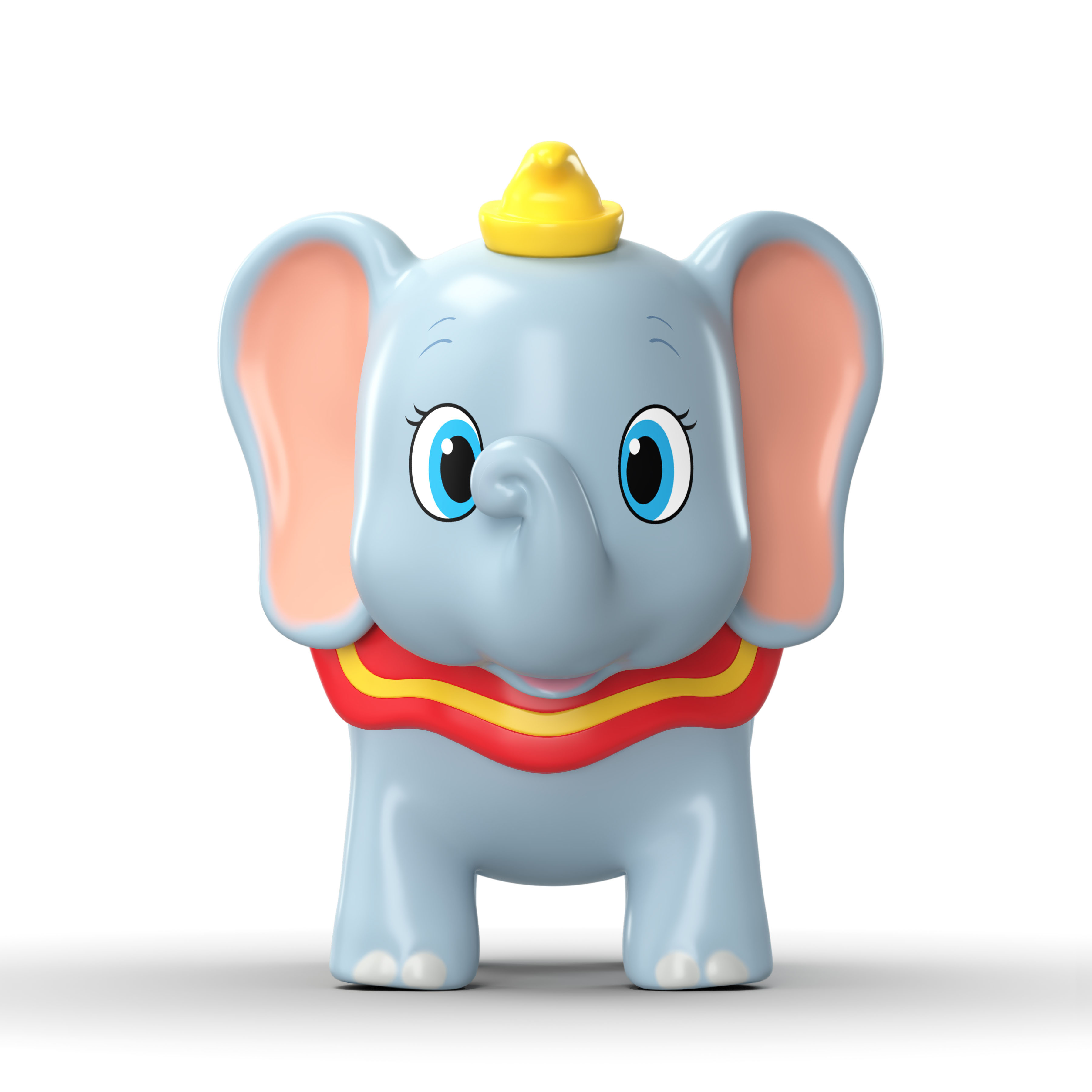 Disney's Dumbo character inflatable toy concept rendering