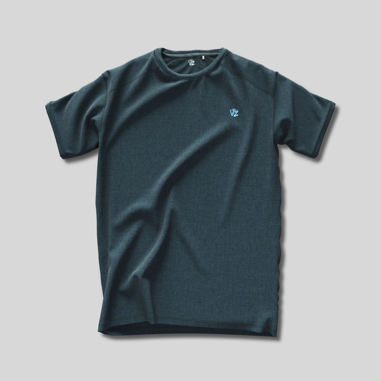 T-Shirt top down flat rendering