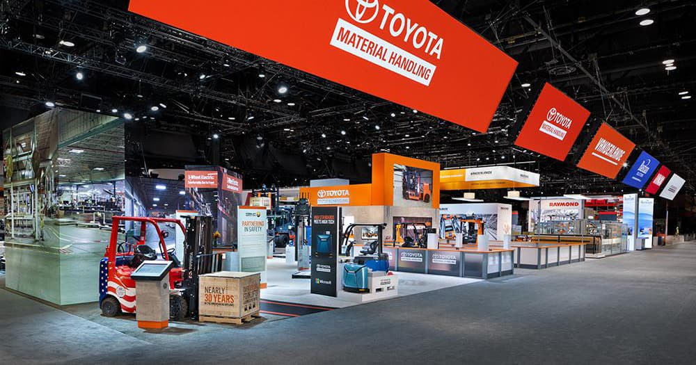 How Toyota Material Handling's Pre-Show Exhibit Staff Training Led to Trade Show Marketing Success