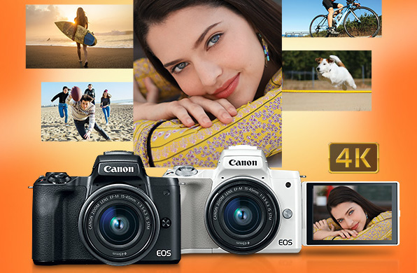 Canon announces EOS M50 Mirrorless Camera & 470EX AI Speedlite