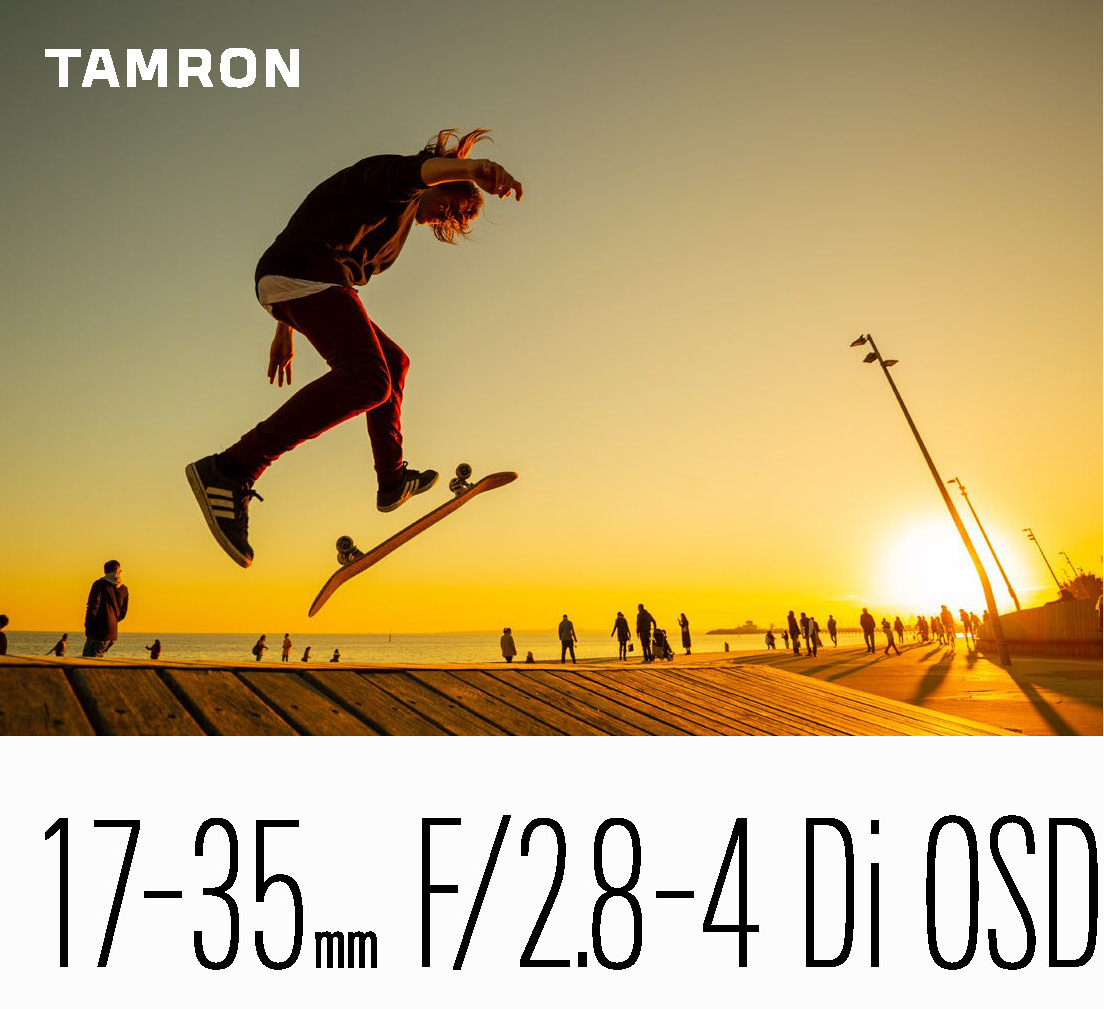 Tamron announces 17-35mm F2.8-4 DI OSD