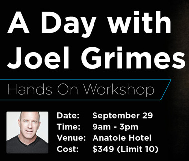 A Day w/ Joel Grimes Workshop - Sat, Sept 29