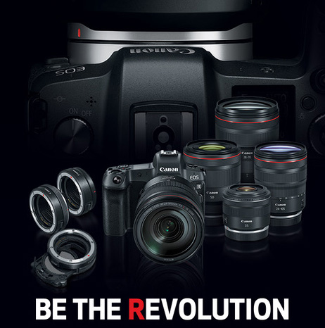 Canon announces EOS R Mirrorless & 4 New RF Lenses