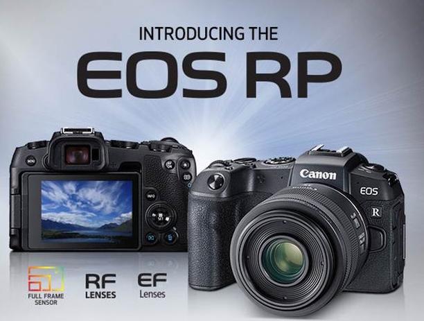 Canon EOS RP announced