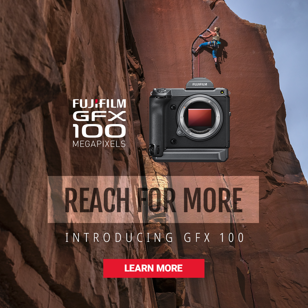 Fujifilm GFX100 Announced - Reach for More