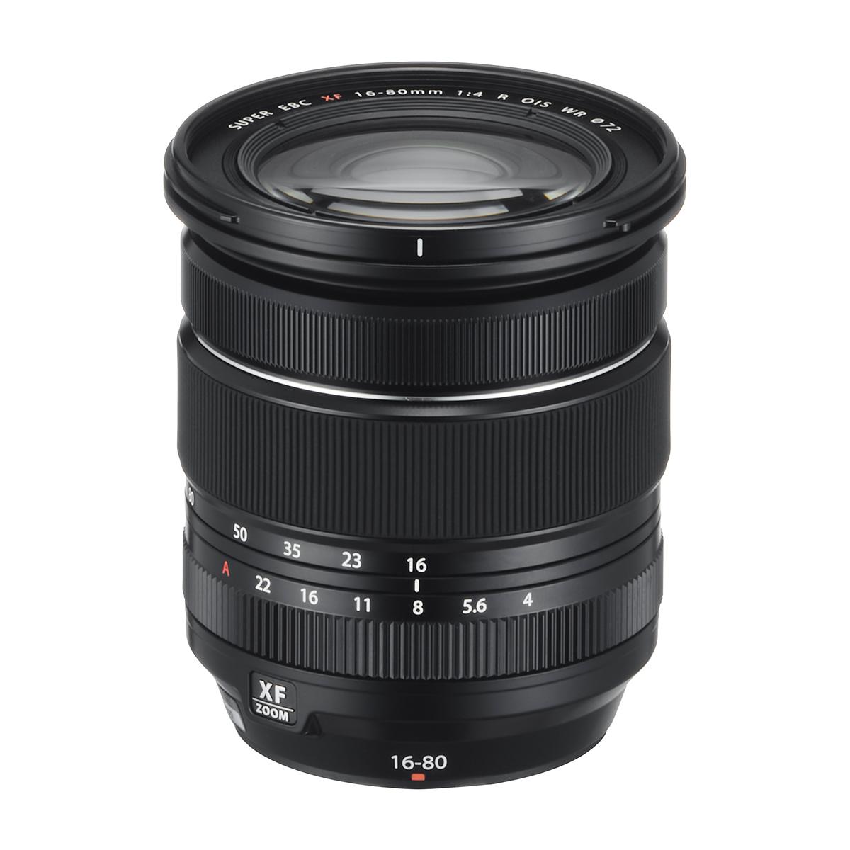Fujifilm announces XF 16-80 F4 OIS WR & GF 45mm F3.5 Lenses R LM WR