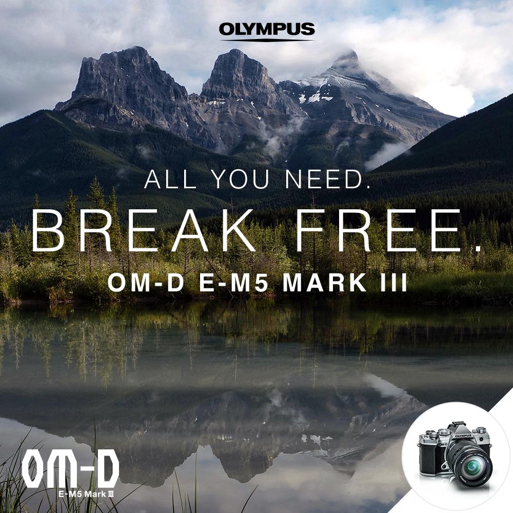 Olympus announces OMD E-M5 III
