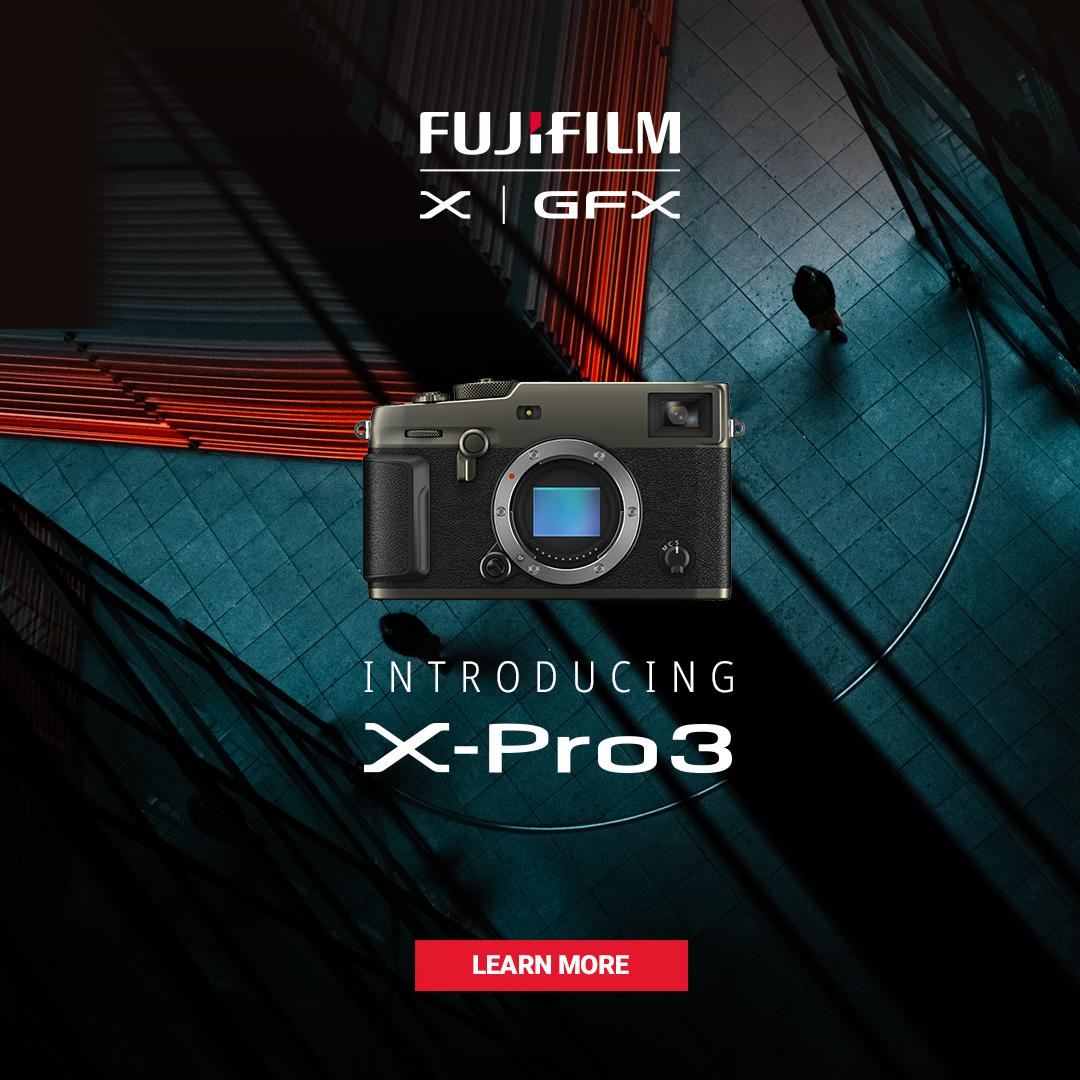 Fujifilm announces X-Pro 3