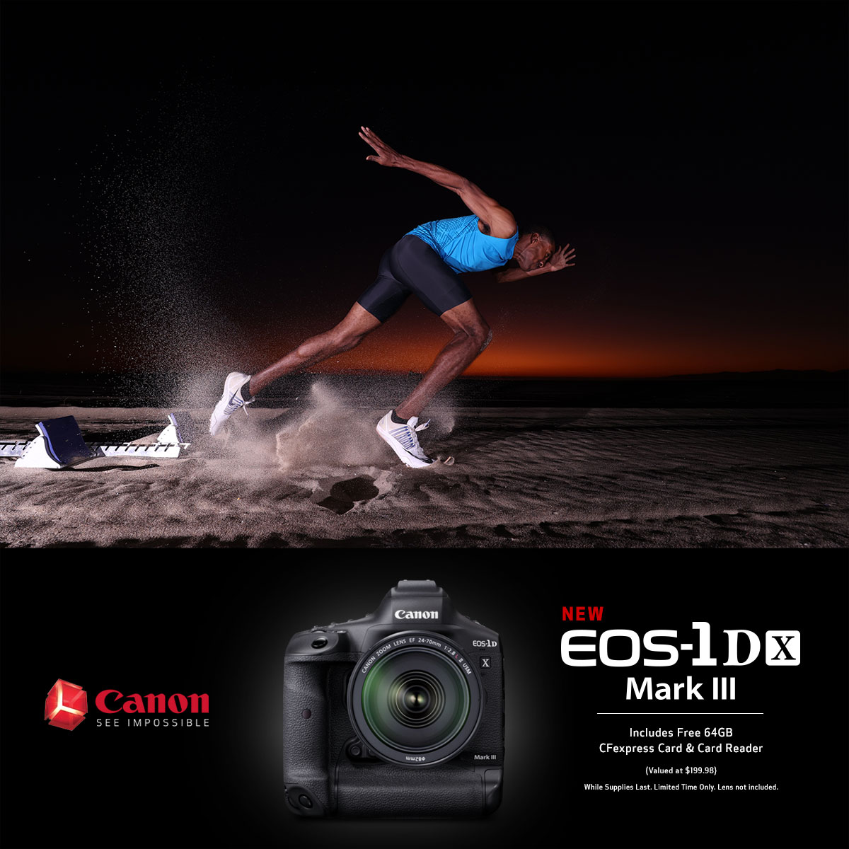 Canon introduces the 1DX Mark III