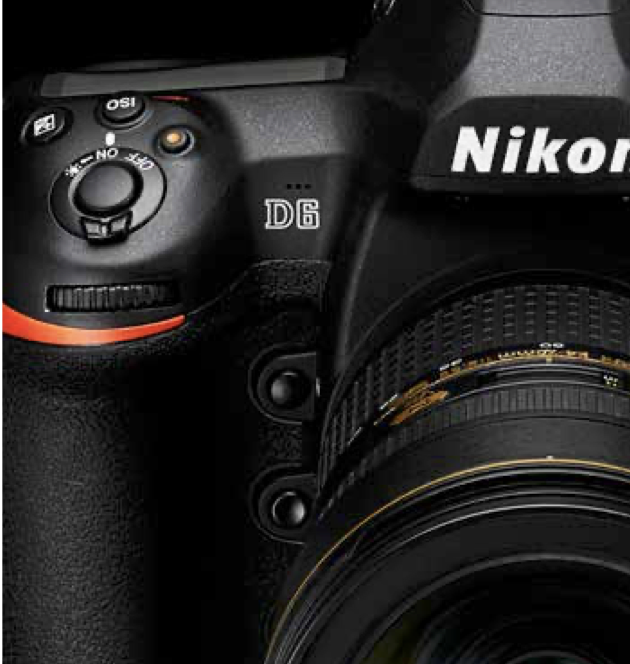 Nikon announces the D6