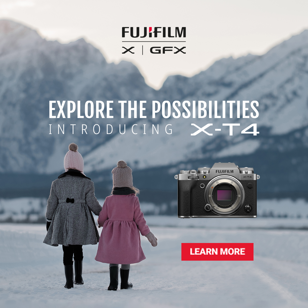 FujiFilm announces the X-T4