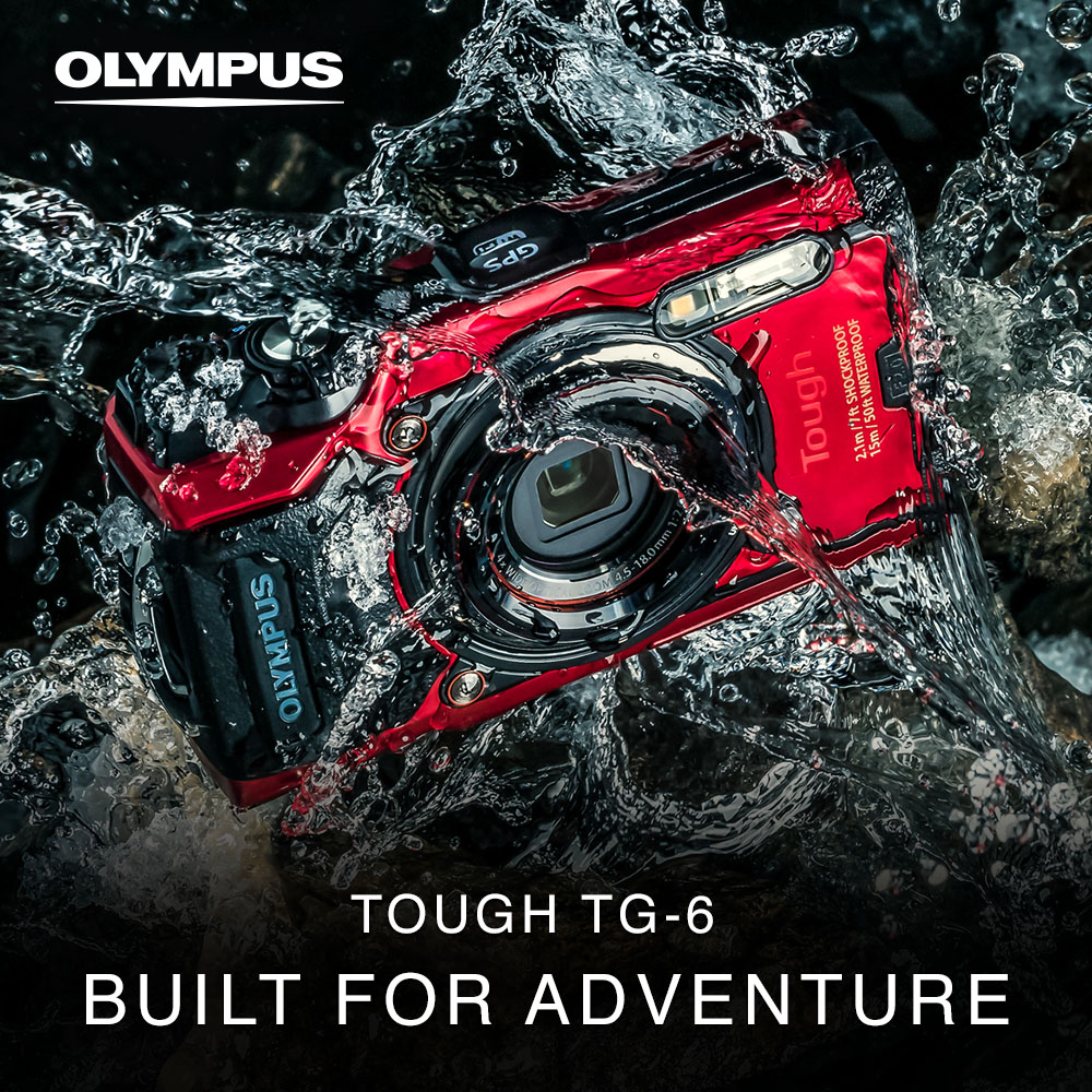 Olympus announces the TG-6 - Tough Adventure Camera