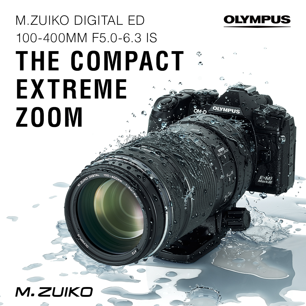 Olympus announces the OM-D E-M10 IV and M.Zuiko 100-400mm lens!