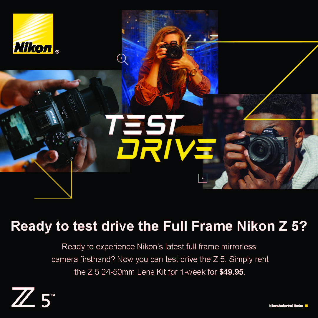 Nikon Z5 Test Drive Rental Program