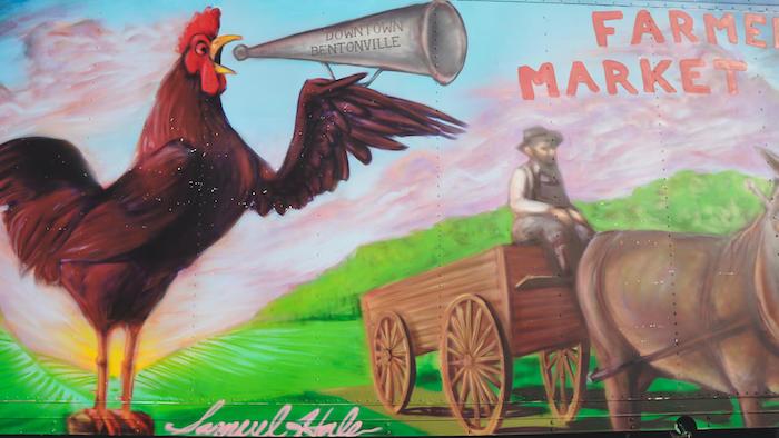 Farmers Market Rooster