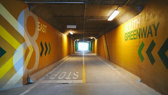 Underground Path Murals